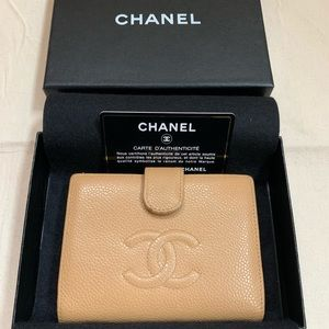 Tan Caviar CHANEL WALLET $250.